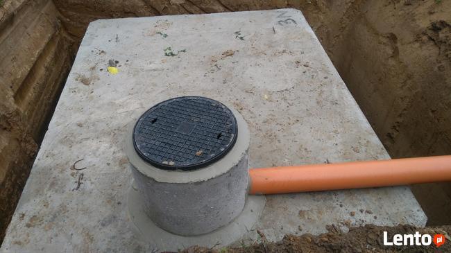 zbiorniki betonowe, piwnice betonowe od PRODUCENTA
