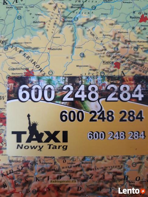 TAXI NOWY TARG tel. 600 248 284