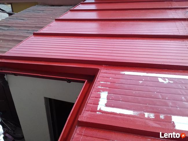 Uszczelnianie dachów pokrytych blachą POLIMOCZNIKIEM