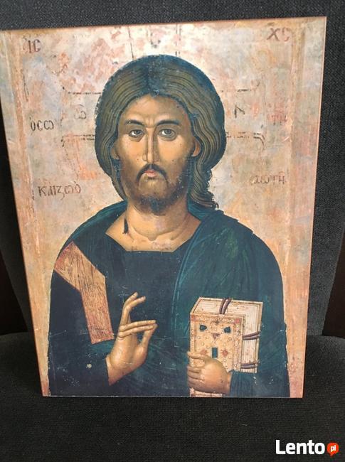 Obraz Święty reprodukcja z certyfikatem idealna na prezent.