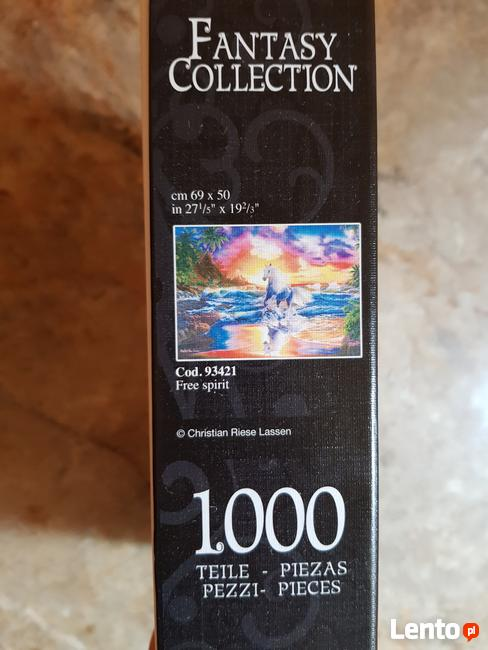 Puzzle 1000 szt. Clementoni Fantasy Collection