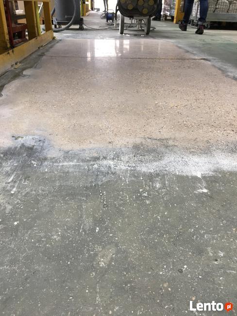Renowacja posadzek betonowych - naprawy, szlif, poler