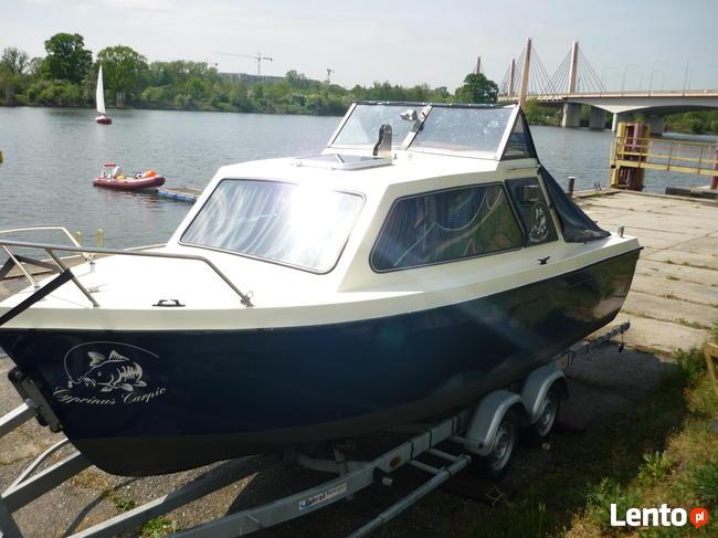 Łódź/Jacht motorowy Onedin 650(35KM bez patentu )+przyczepa