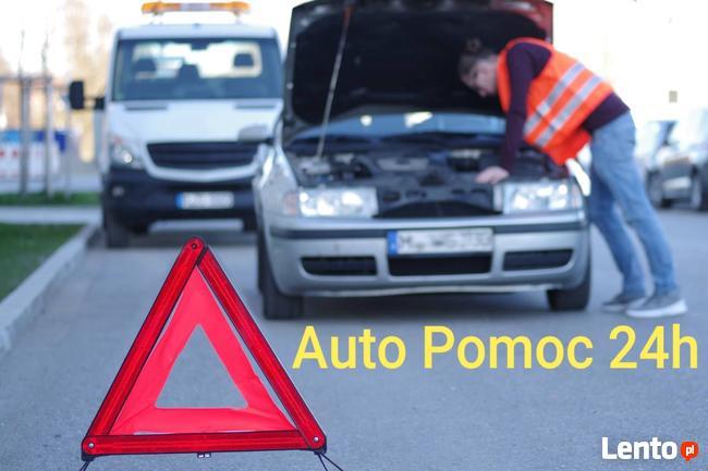 Pomoc Drogowa, auto pomoc, uruchamianie aut zmiana koła 24h