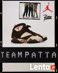 Limitowane Nike AIR JORDAN VII PATTA r. eur 42,5 AT3375-200