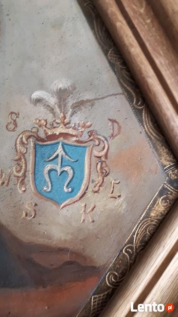 Unikatowy sarmacki portret trumienny. Antyk