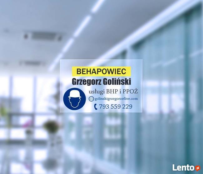 Usługi BHP i PPOŻ - Behapowiec