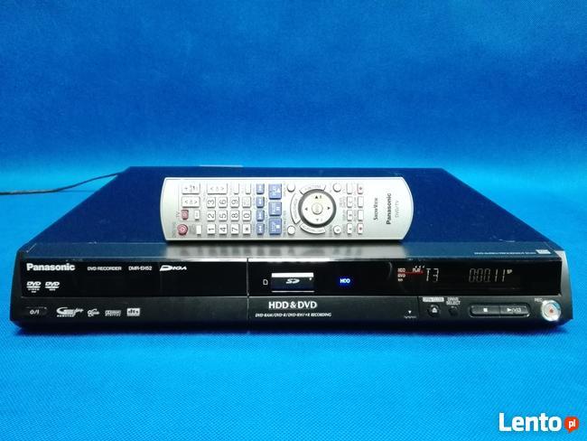 Nagrywarka DVD/HDD Panasonic DMR-EH52 / 80GB / Pilot