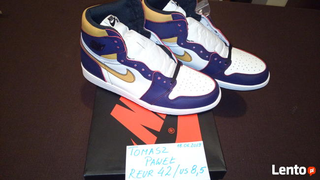 Nike Jordan 1 High OG Defiant SB LA to Chicago CD6578-507
