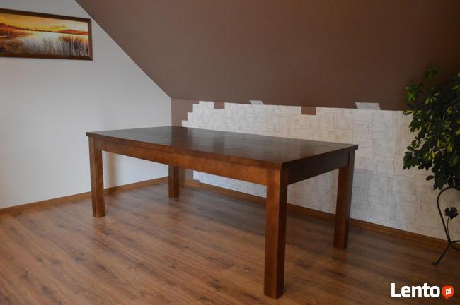 Solidny stół 100x200+2x50, 12 x krzesło Kanzas. Producent