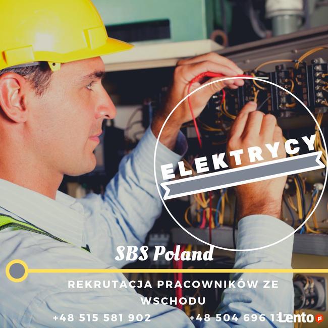 Elektryk. szukam pracy w Polsce