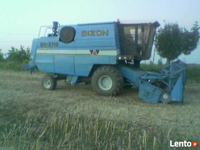 BIZON BS-Z110, silnik ZTS, intercooler, heder, hydrostat Budzisz