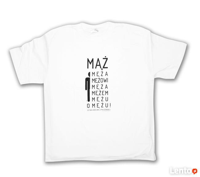 koszulka mąż, koszulka z napisem mąż wiecżór panieński