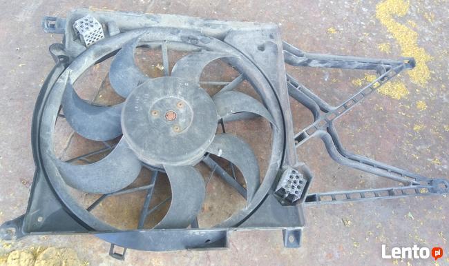 wentylator elektryczny chłodnicy Opel Astra G II Bosch tył