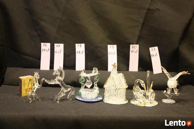 Figurki ze szkła WYPRZEDAŻ