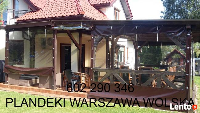 Warszawa, zadaszenia plandekowe, altan, werand, ogródki rest