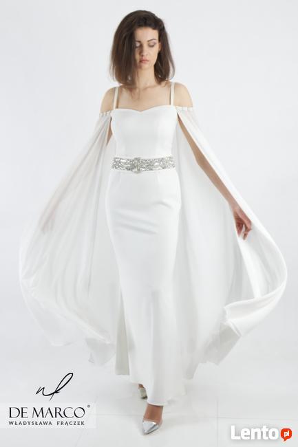 Najmodniejsza suknia na ekskluzywne wesele dla Pani Młodej