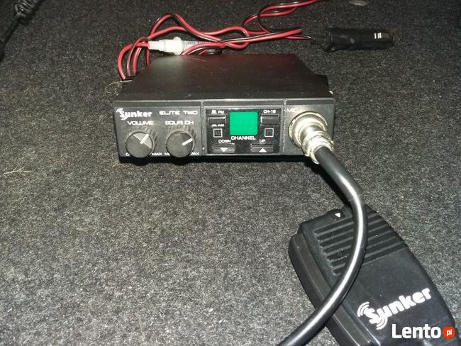 CB radio Sunker + antena