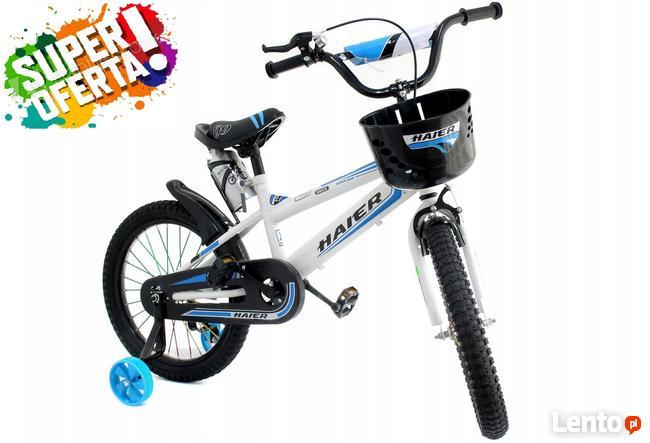 Rower ROWEREK dziecięcy HAIER 20 CALI niebieski nowy !