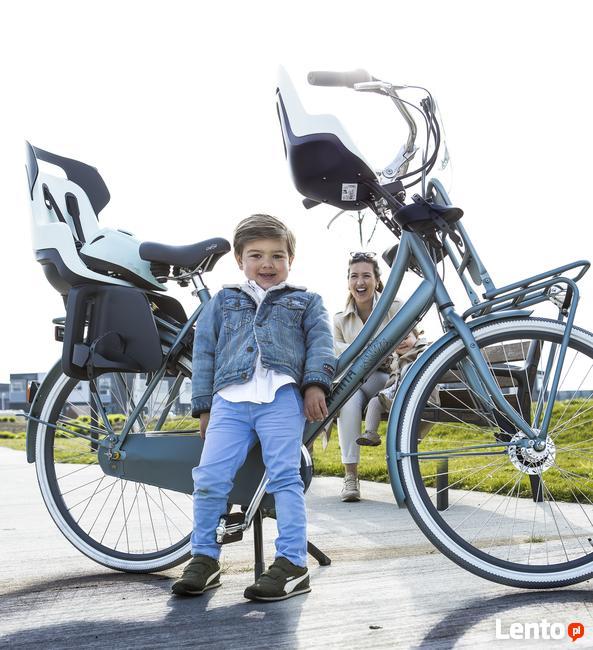 Bobike fotelik rowerowy GO na bagażnik MINT + kask