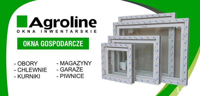 Okna gospodarcze inwentarskie przemysłowe magazyny 40x50