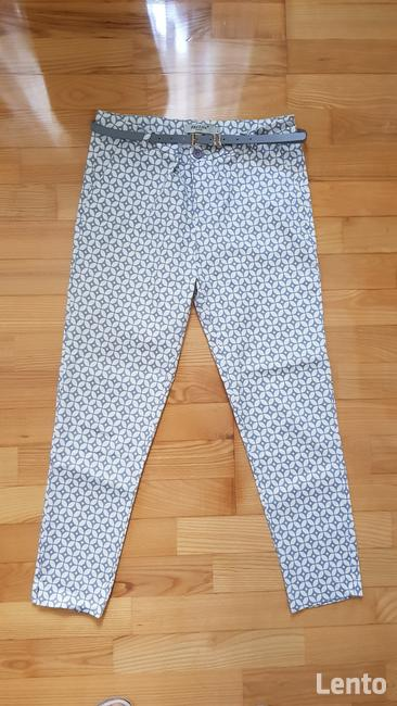 Spodnie rurki elastan