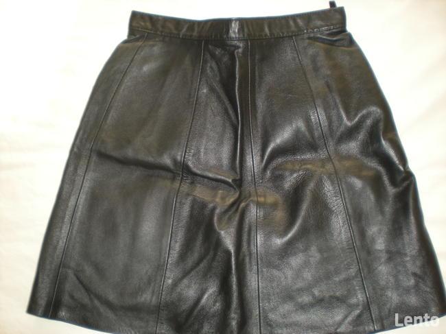Sprzedam nową skórzaną spódnicę z kamizelką