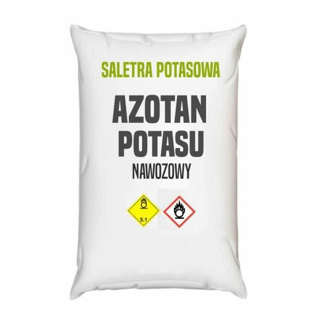 Saletra potasowa, azotan potasu – 25 – 1000 kg – Kurier