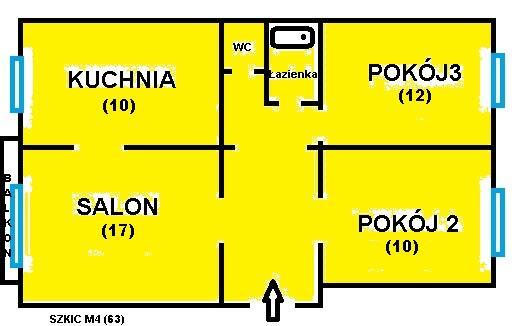 Zamienimy M4 bloki na mieszkanie do wykupu