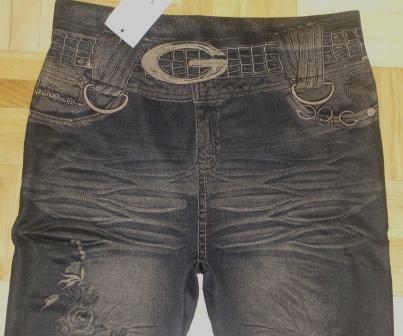 Leginsy Jeans różne rodzaje