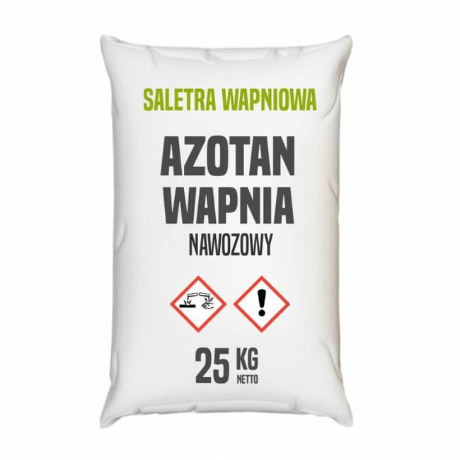 Saletra wapniowa, azotan wapnia nawozowy-25-1000 kg- Kurier