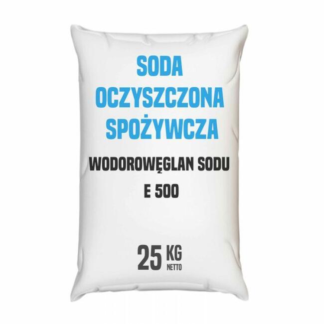 Soda oczyszczona spożywcza z antyzbrylaczem E 500 (ii)
