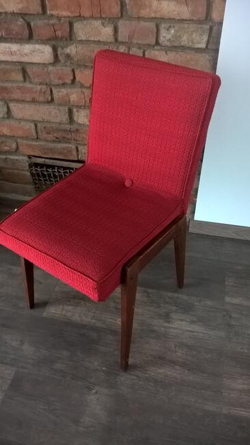 Krzesło, fotel Aga proj.J.Chierowski PRL