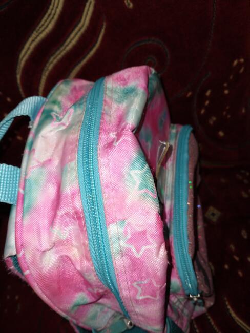 Plecak dziecięcy jednorożec brokatowy