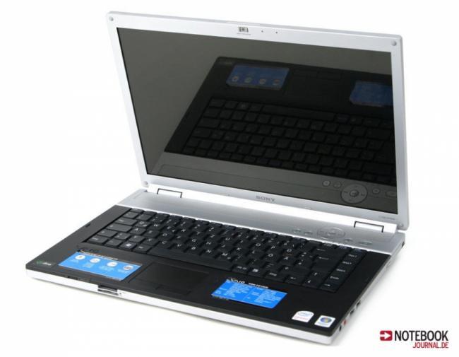 Laptop SONY VAIO ALU 15.4 X-Black Win7 Intel Core2Duo T7100