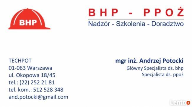 Główny Specjalista ds. BHP Specjalista ds.