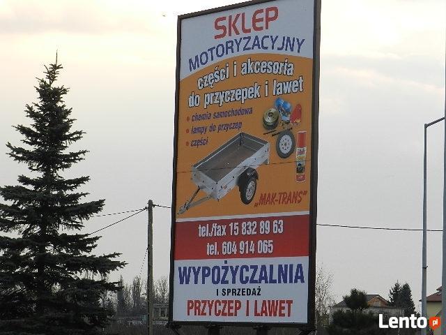 Wypożyczalnia Sprzedaż Przyczep RYDWAN SANDOMIERZ MAK-TRANS