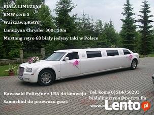 Limuzyna Chrysler 300c 10m Nowy Sacz Tarnów Oswiecim Jaslo