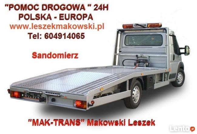 POMOC DROGOWA Makowski Leszek
