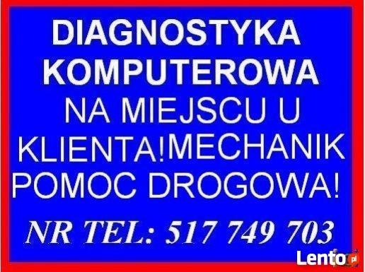 DIAGNOSTYKA KOMPUTEROWA AUTA SAMOCHODU ŁÓDŹ ZGIERZ