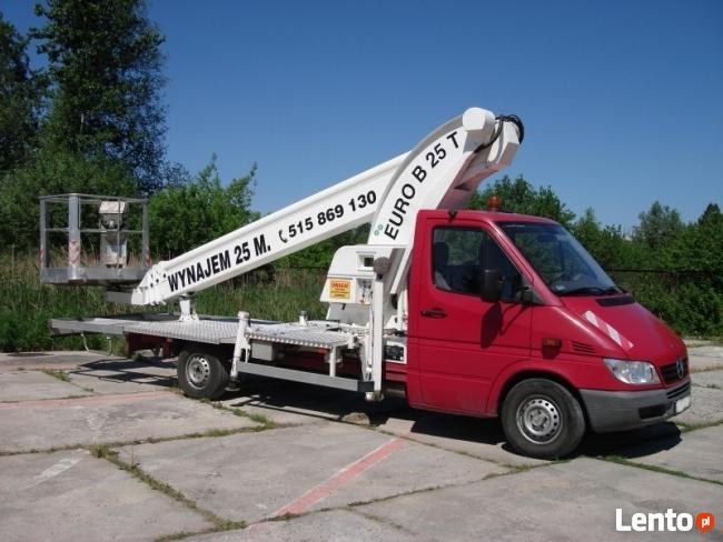 Podnośnik Koszowy - LIFT Usługi Podnośnikowe Elbląg
