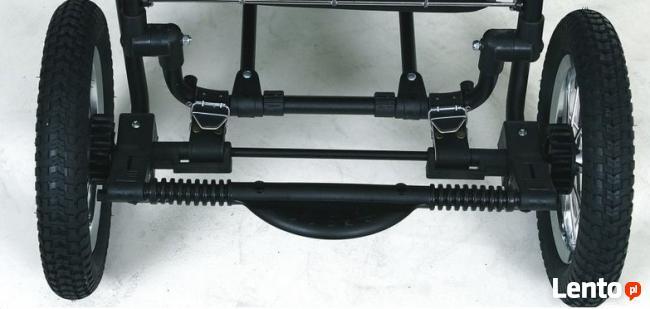 Nowe szerokie paski do wózka