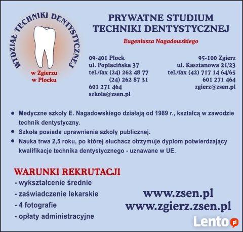 stomatologia, wpisowe 0 zł
