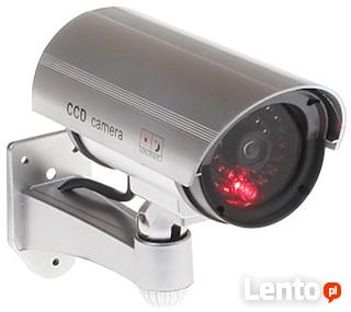 Kamera atrapa monitoring kamery LED alarm