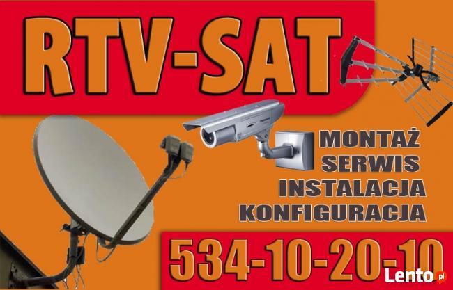 serwis naprawa instalacja montaż ANTEN SAT DVBT anteny