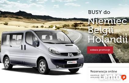 BUSY Z OSTRÓDY DO NIEMIEC - BELGII -HOLANDII