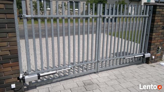 Ogrodzenia, Bramy, Automaty napędy siłowniki do bram.