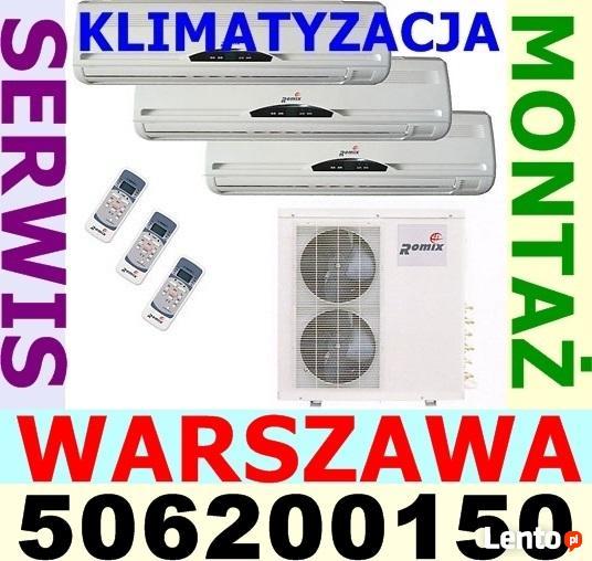 KLIMATYZACJA - Serwis i montaż w dobrej cenie. Warszawa