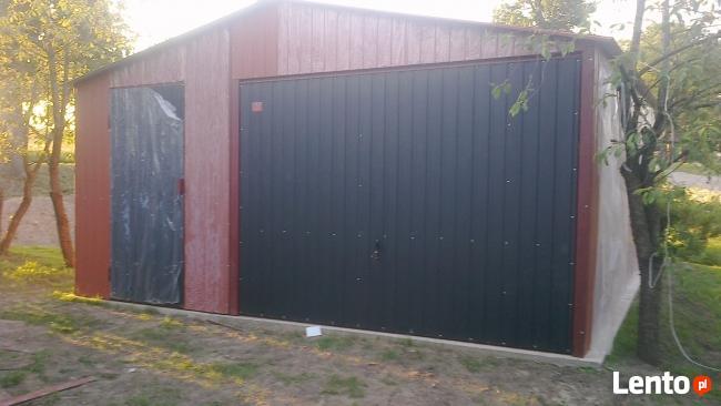 Garaż Blaszany 5x6