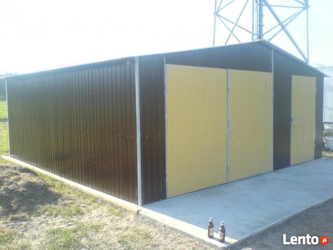Garaż Blaszany 5x6 PRODUCENT WZMOCNIONE